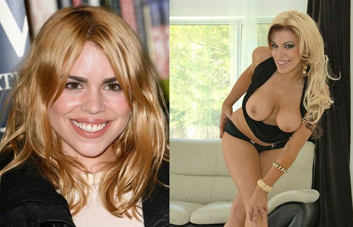 Porn stars and celebrities that look alike - 19