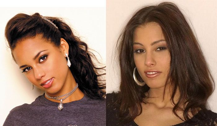 Porn stars and celebrities that look alike - 20
