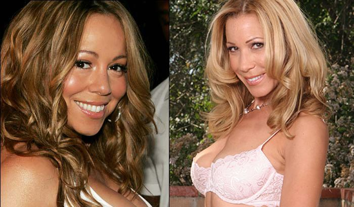 Porn stars and celebrities that look alike - 21