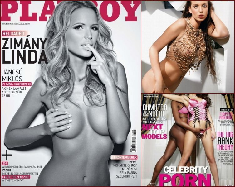 The sexiest covers of Playboy magazine for 2010 - 13