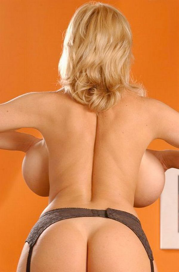 Big breasts from the back look very funny - 12