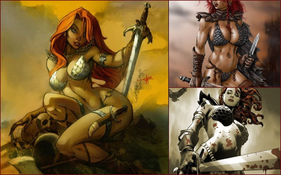 Beautiful pictures of sexy warrior Ginger Sony - 10
