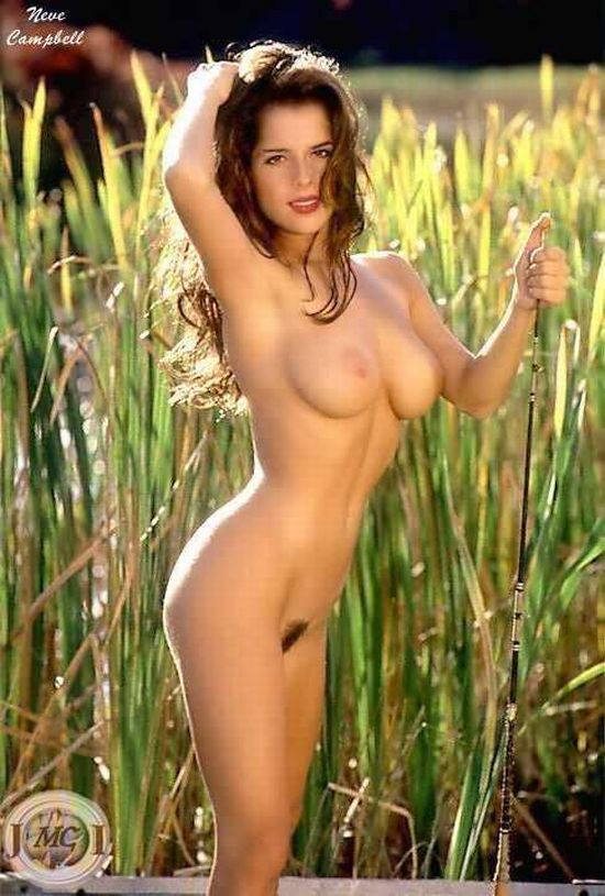 Celebrities made naked in Photoshop. Part 2 - 11