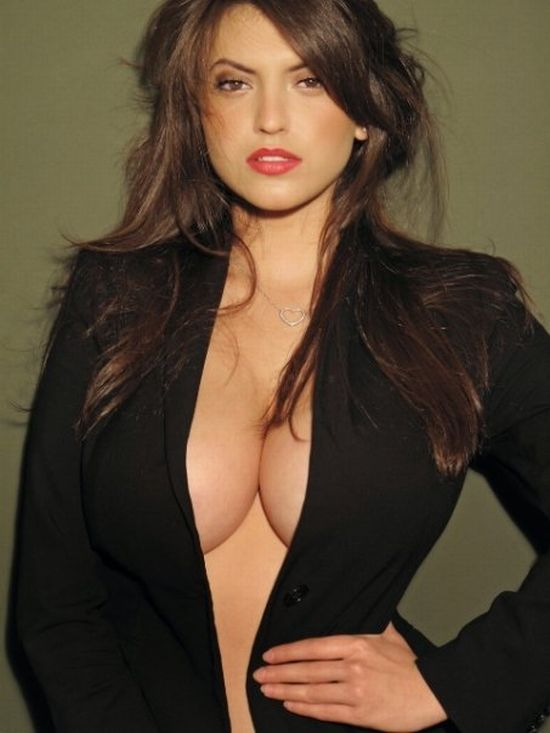 Francoise Boufhal, a model with fantastic breasts - 06