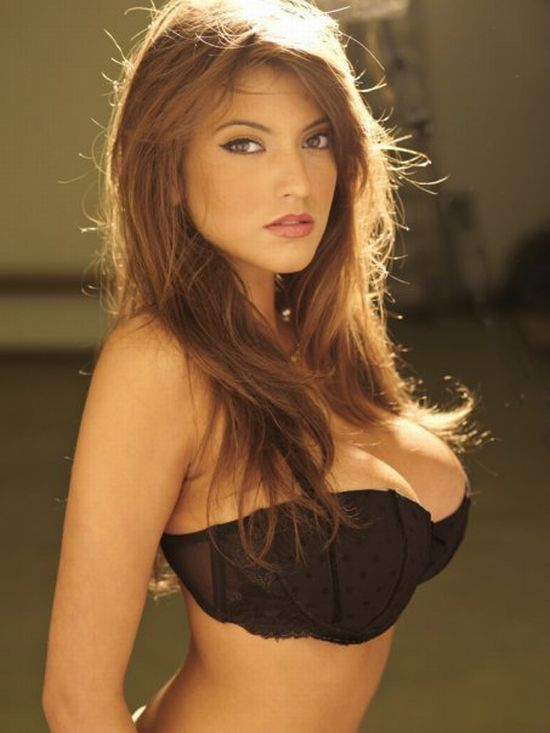 Francoise Boufhal, a model with fantastic breasts - 19