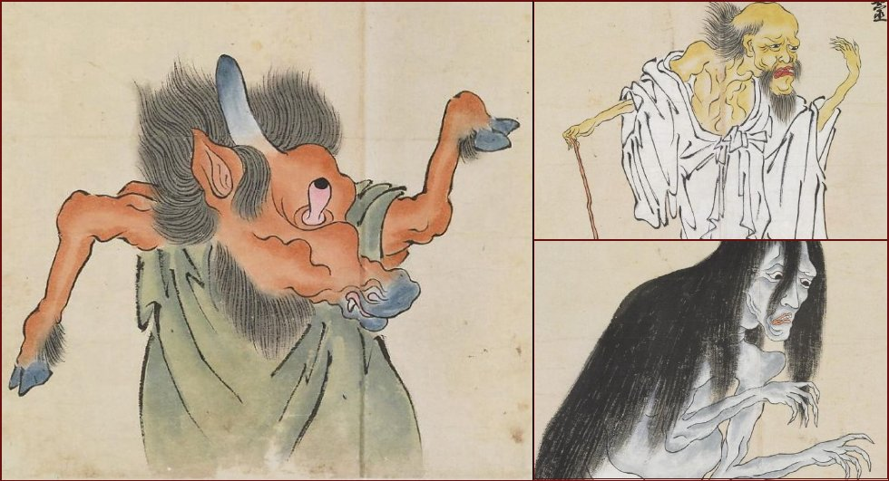 Japanese monsters of 18th century - 13