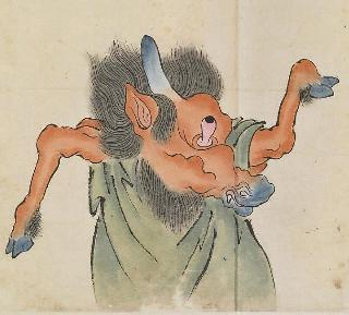 Japanese monsters of 18th century