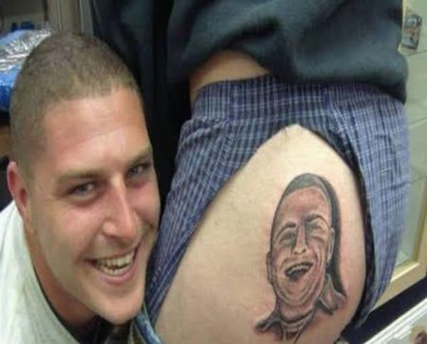 Ass tattoos. These guys have too much free time on their hands - 00