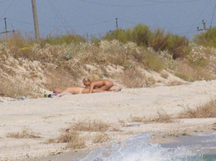 Naughty couple on the beach - 06