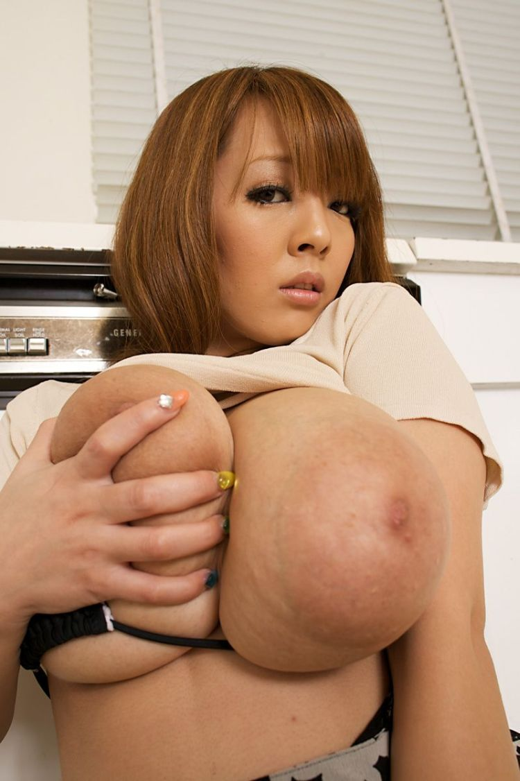 Wow! Asian babe with mega tits - 07