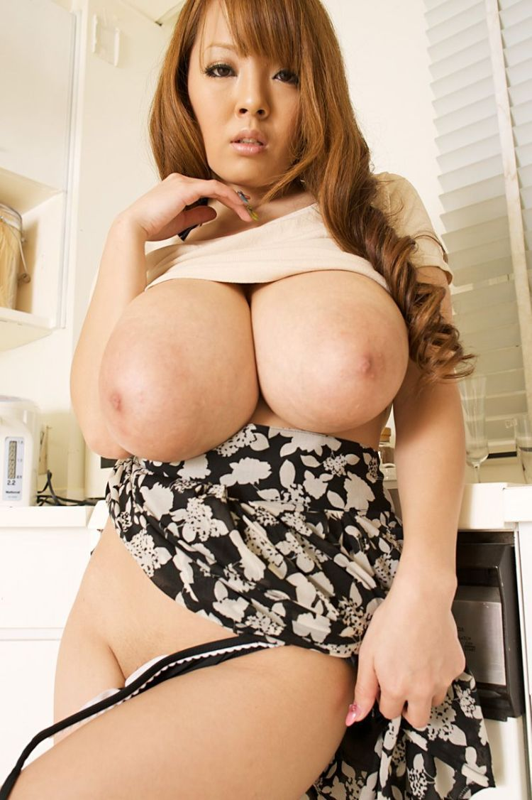 Wow! Asian babe with mega tits - 09
