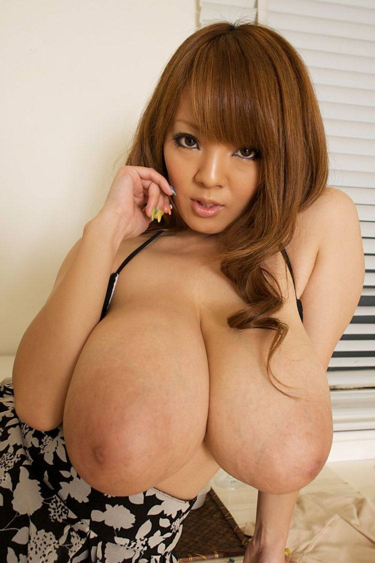 Wow! Asian babe with mega tits - 16