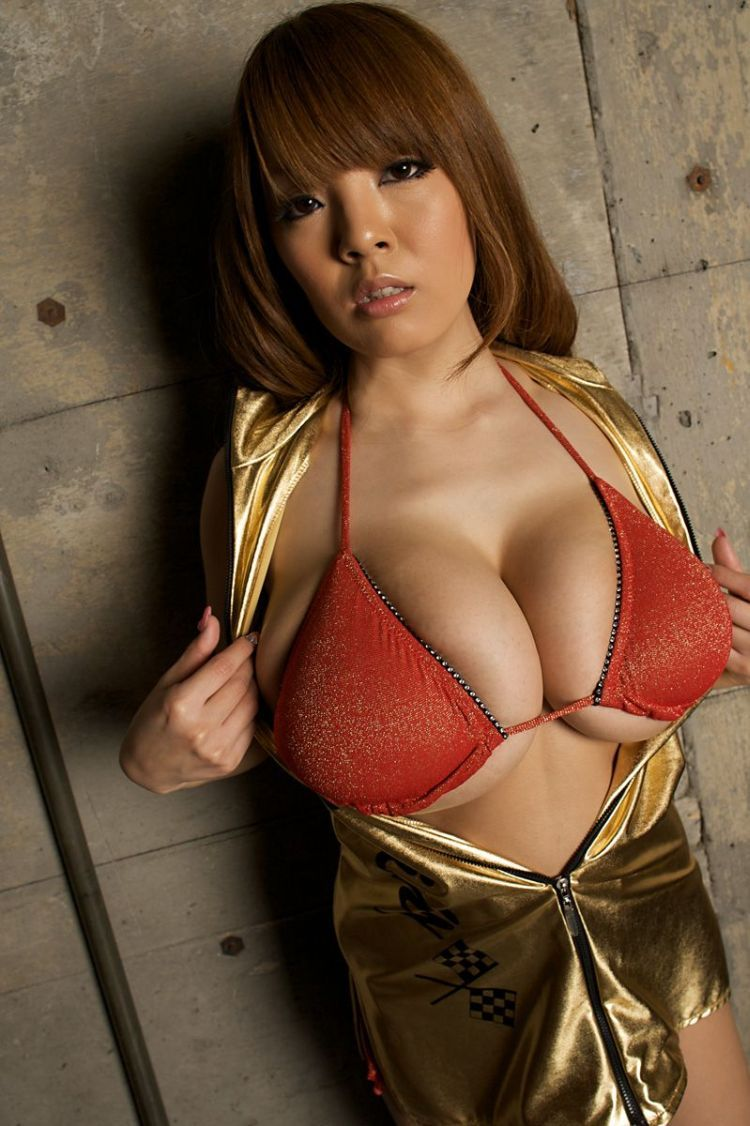 Wow! Asian babe with mega tits - 17