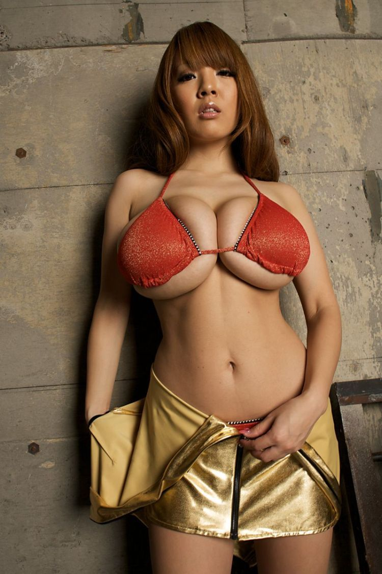 Wow! Asian babe with mega tits - 18