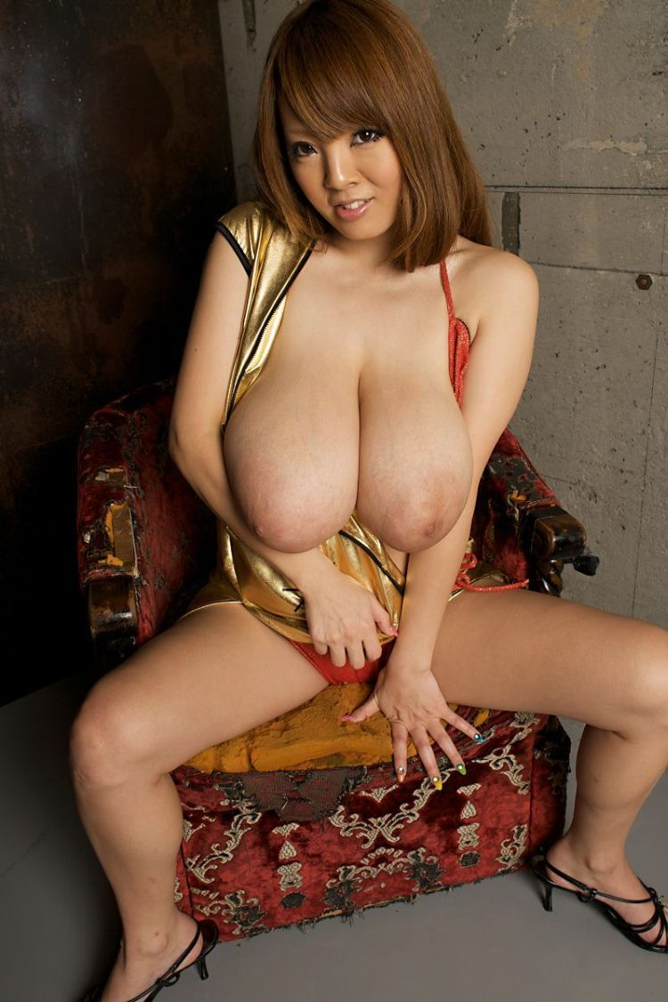 Wow! Asian babe with mega tits - 20