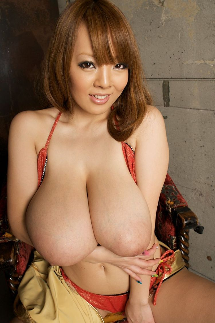 Wow! Asian babe with mega tits - 22