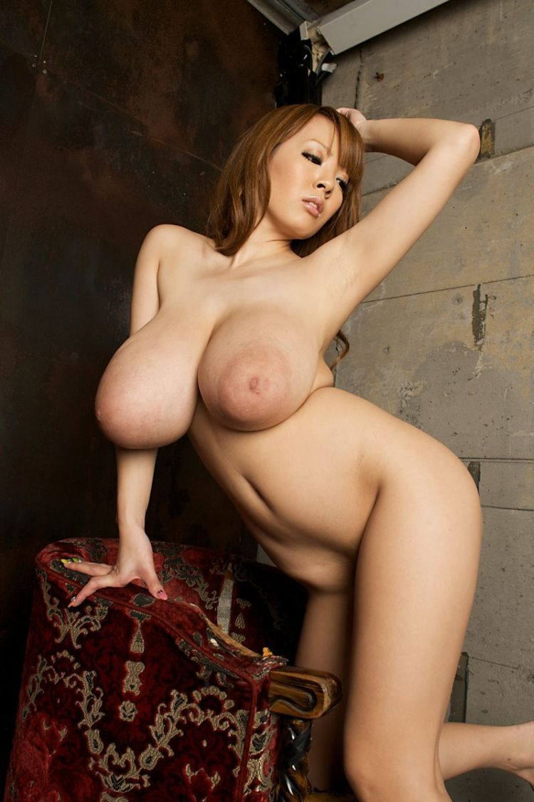 Wow! Asian babe with mega tits - 24