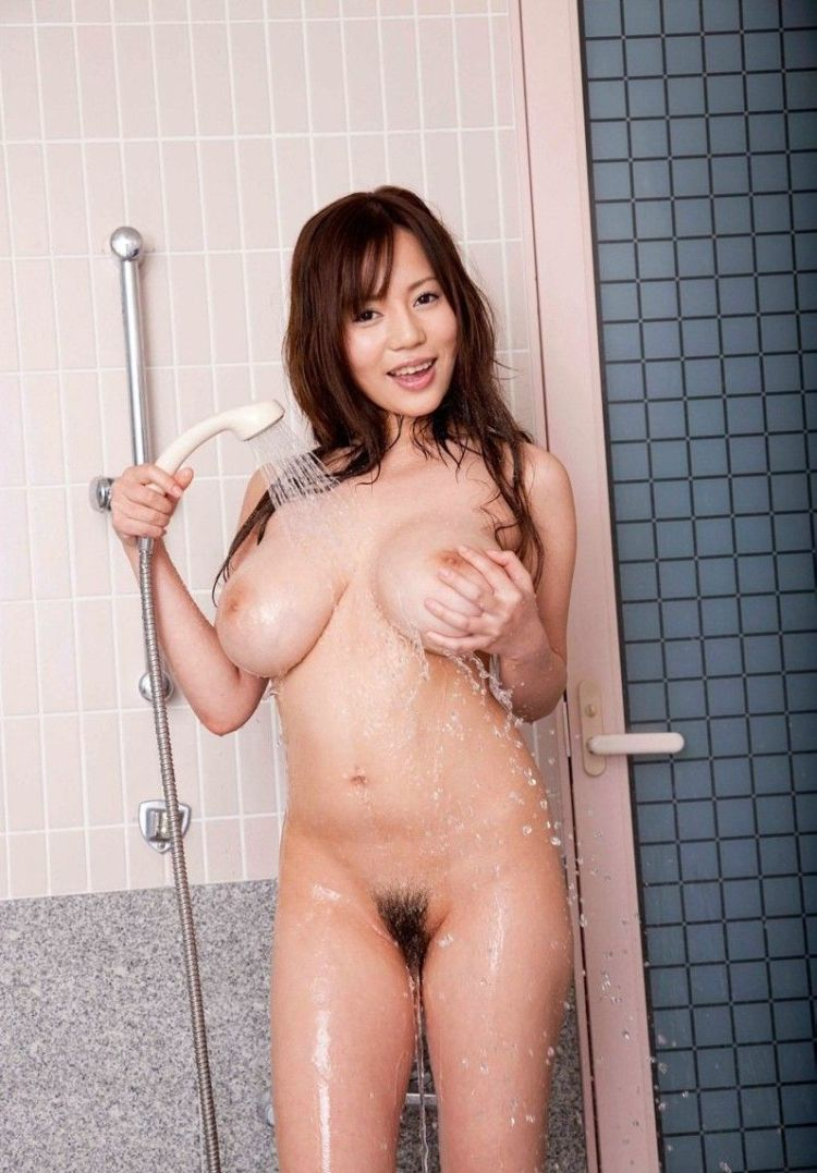 Busty Asian girl in the shower - 05