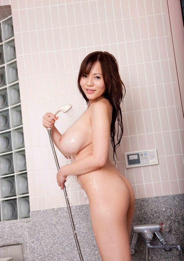 Busty Asian girl in the shower - 06