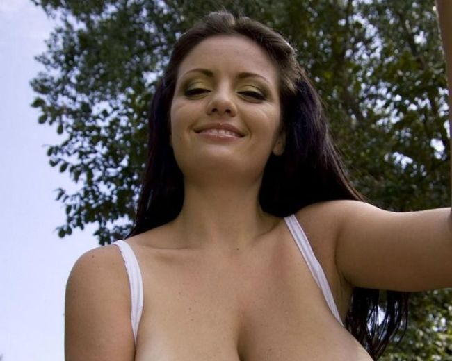 Sweet thing with huge boobs - 00