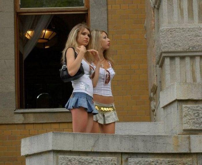 Girls in mini-skirts - 14