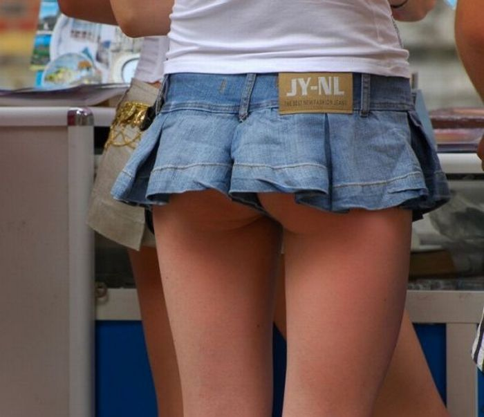 Girls in mini-skirts - 18