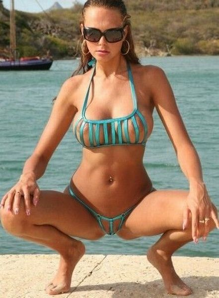Wow! Girls in sexy micro bikinis - 10