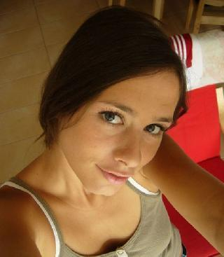 Self shots of a pretty woman
