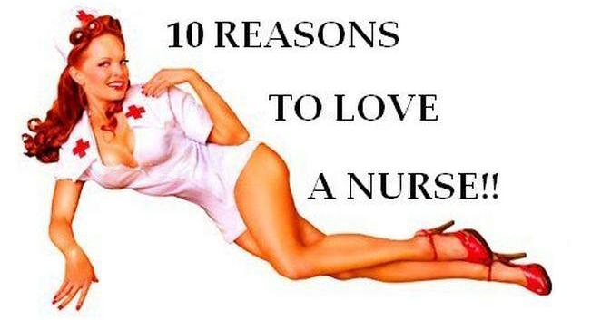 10 reasons to love a nurse - 1
