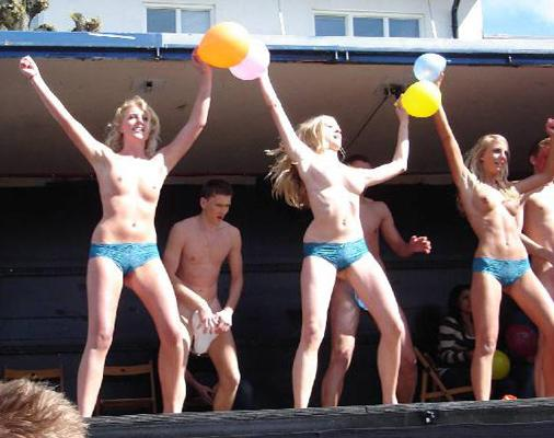 Crazy students and their college initiations - 11