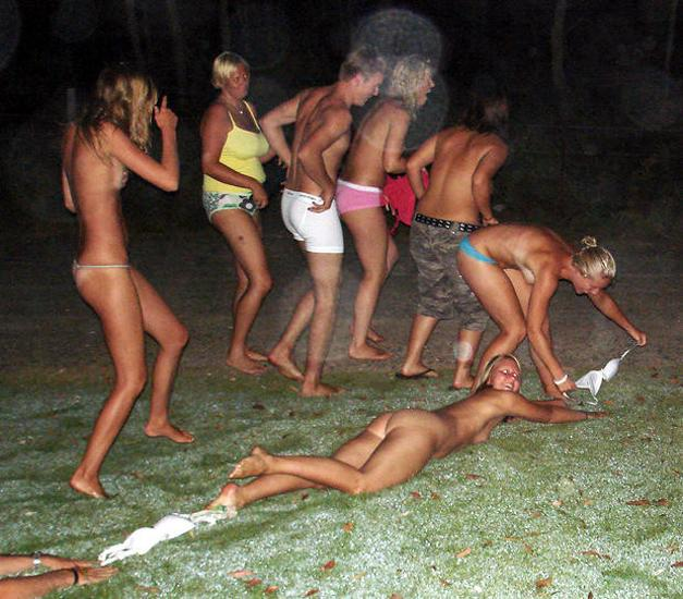 Crazy students and their college initiations - 2