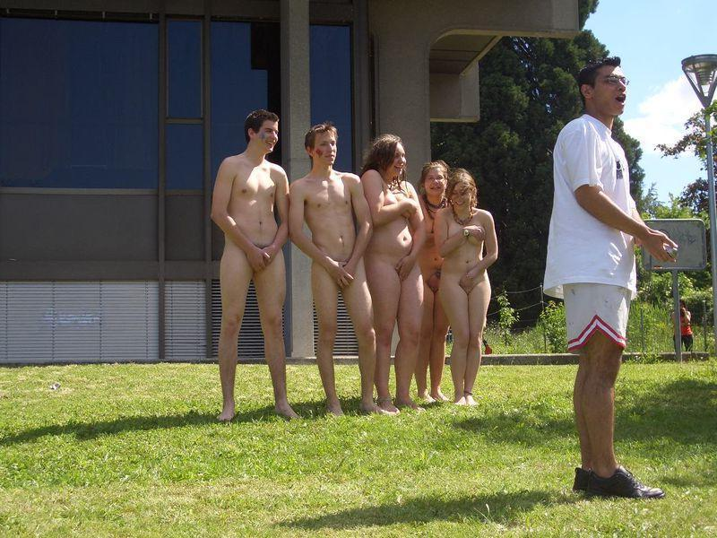 Crazy students and their college initiations - 5