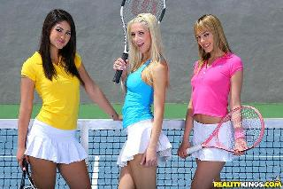 Tennis Trio Hotties