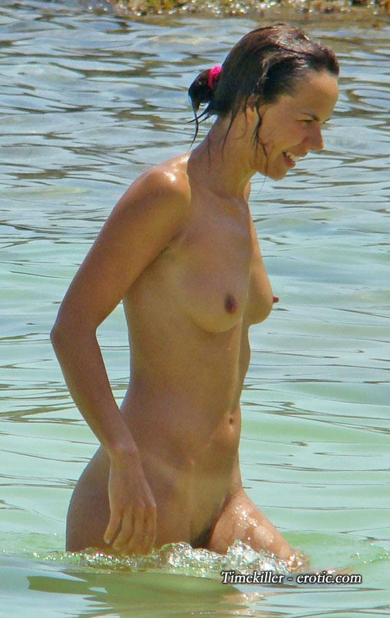 Hot girls on nudist beach - 11