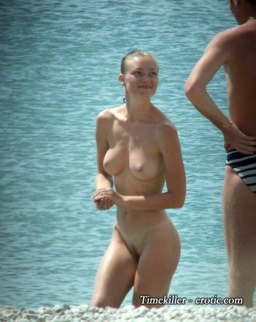 Hot girls on nudist beach - 18