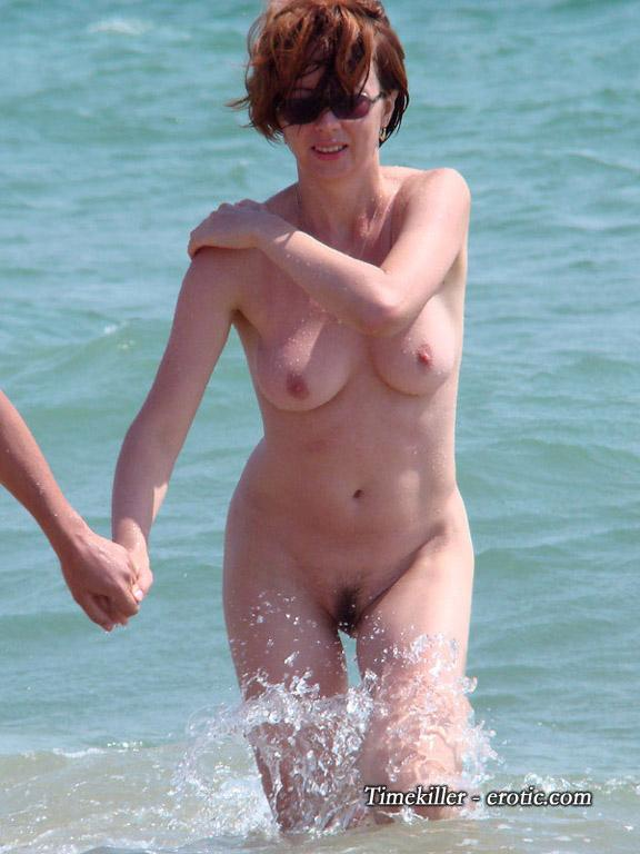 Hot girls on nudist beach - 19