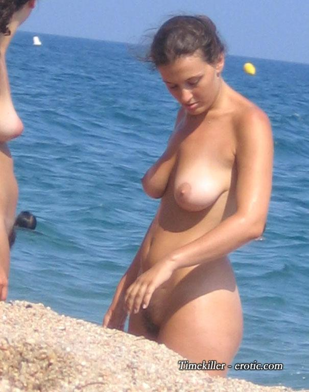 Hot girls on nudist beach - 20