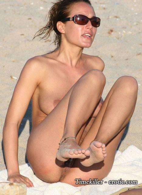 Hot girls on nudist beach - 23