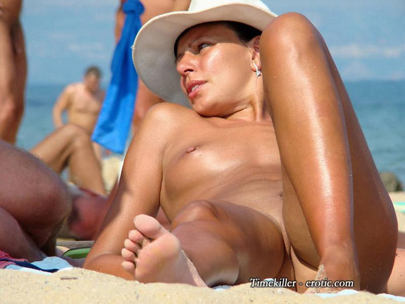 Hot girls on nudist beach - 25