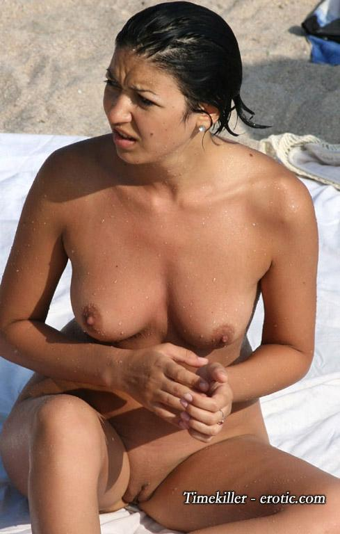 Hot girls on nudist beach - 26