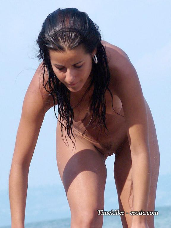 Hot girls on nudist beach - 30