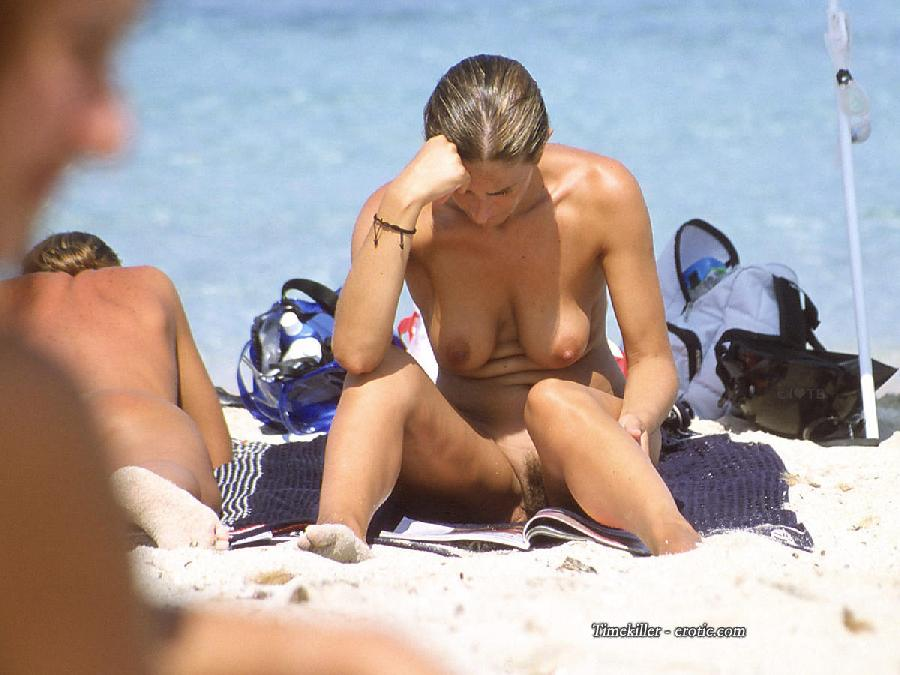Hot girls on nudist beach - 35