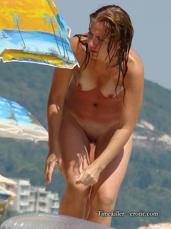 Hot girls on nudist beach - 36