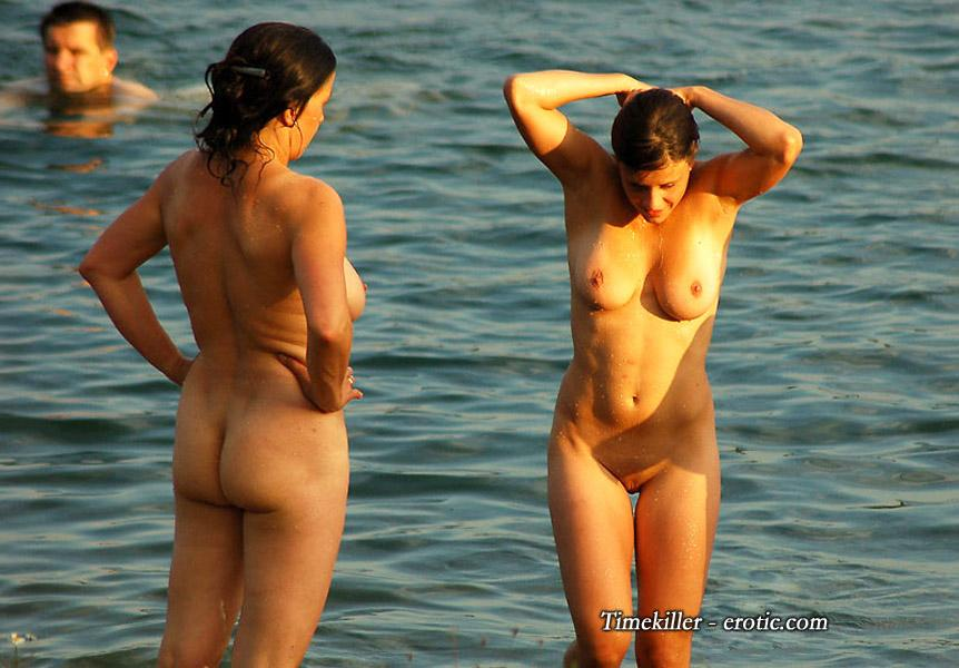 Hot girls on nudist beach - 38