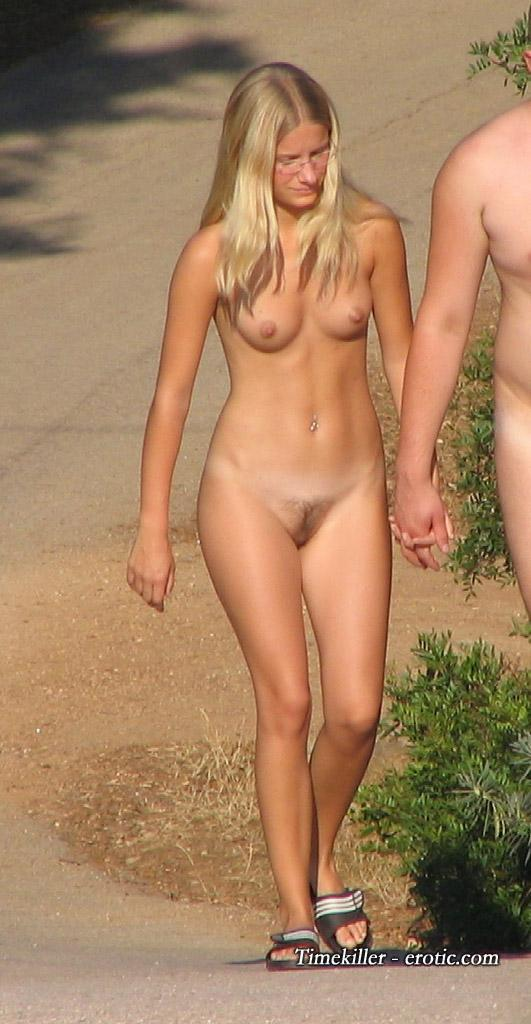 Hot girls on nudist beach - 4