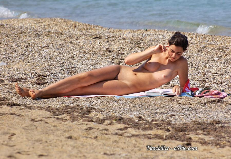 Hot girls on nudist beach - 42