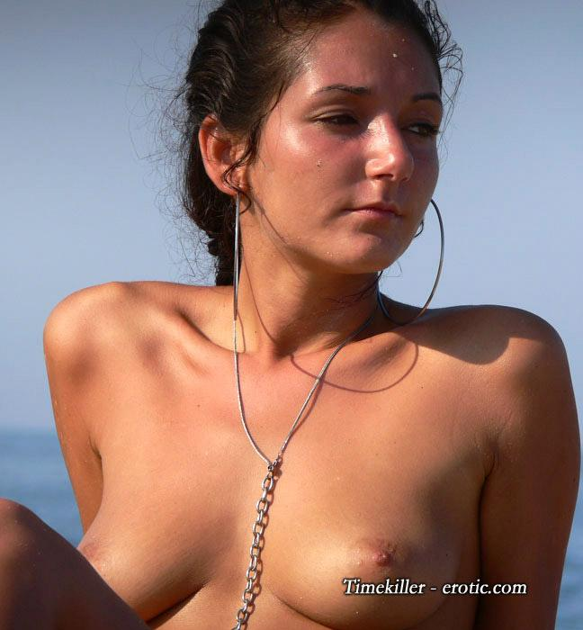 Hot girls on nudist beach - 47