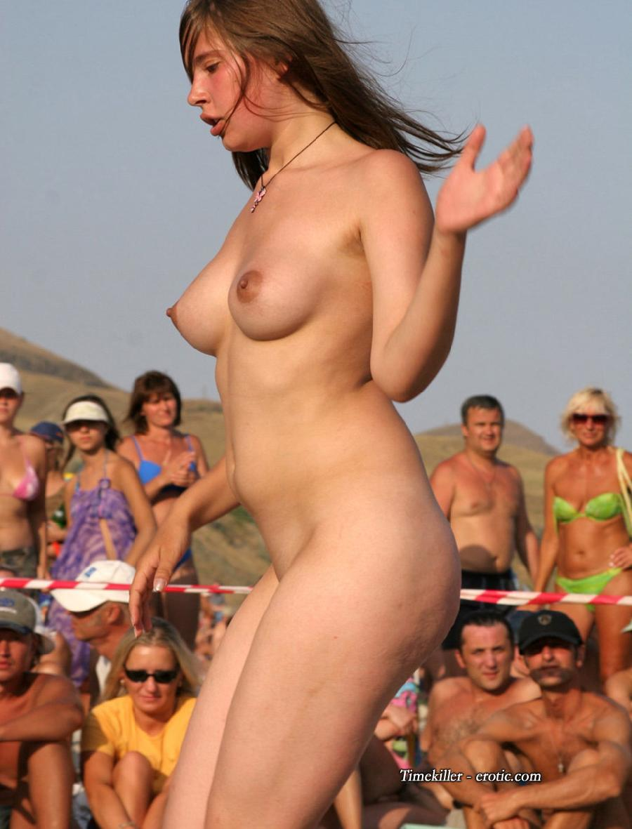 Hot girls on nudist beach - 50