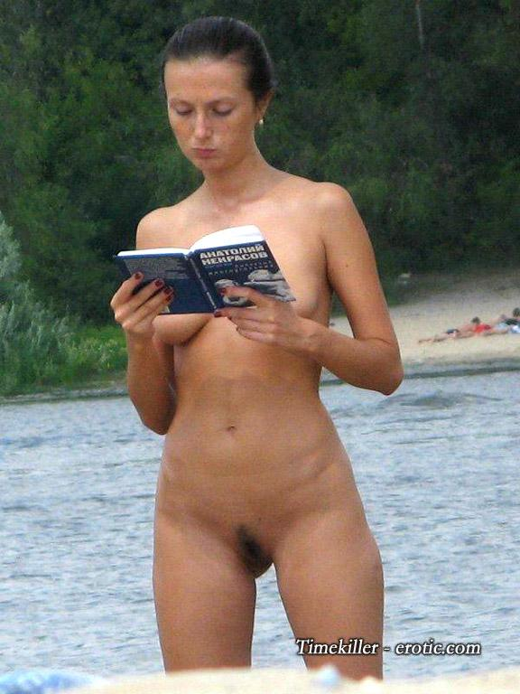 Hot girls on nudist beach - 8