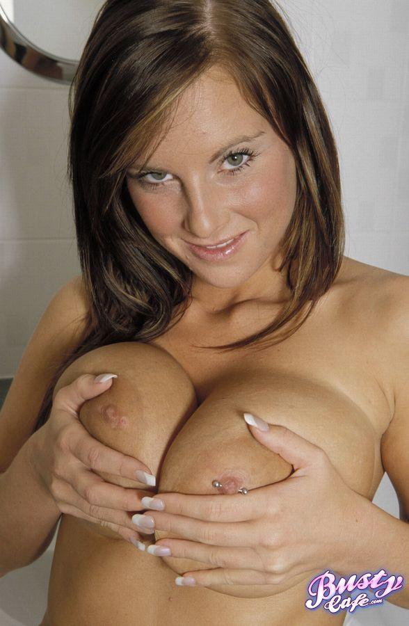 Candy shows her huge melons - 14